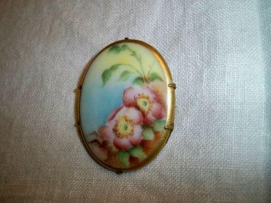 Oldfashionedcharm Antique American Painted Porcelain