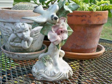Oldfashionedcharm Vintage 1940s Cordey Porcelain Bird